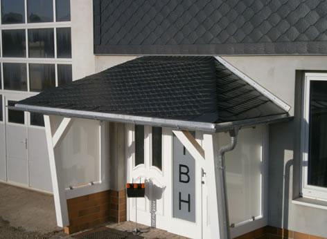 überdachungen Eingangsbereich dach bau heberl de meisterbetrieb